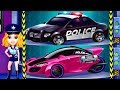 Police Car Patrol Kids Games with Police Girl Superhero Chase Game to Catch the Robber