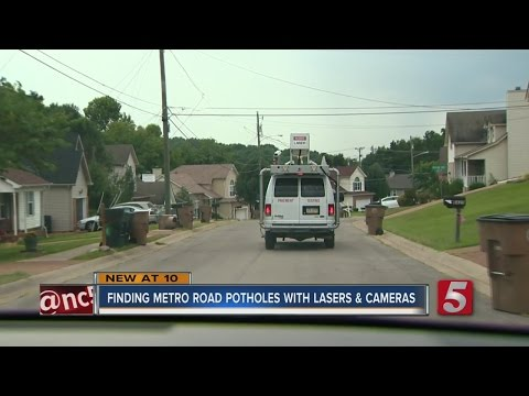 High-Tech Road Survey Vehicle Hits Metro Streets
