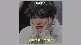 (BTS SUGA) Agust D - People (Tradução/ legendado)