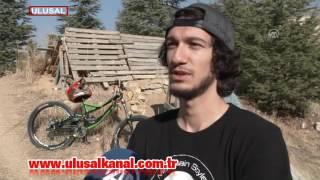 Downhill sporunun Türkiye birincisi oldu