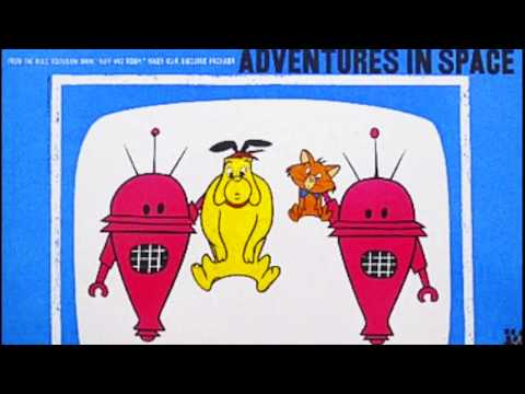 Hanna Barbera RUFF AND REDDY Adventures in Space LP Record