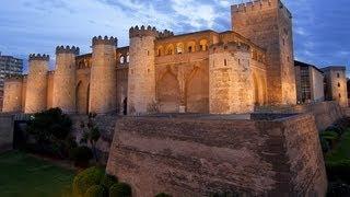 ИСПАНИЯ: Замок-дворец-крепость Альхаферия... The Aljafería Palace