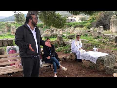 Predicación en Corinto, Grecia