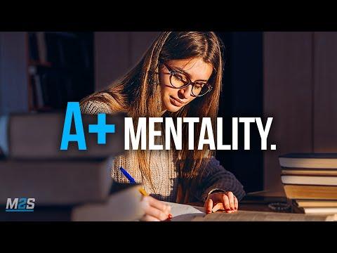 A+ STUDENT MENTALITY - Best Study Motivation