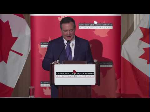 Premier Kenney Addresses Canadian Club Of Ottawa - December 9, 2019