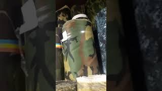 Видео Ткань камуфляжная от 150 сом