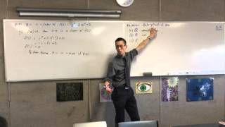 Intro to Extension 2 Polynomials (2 of 3: Example Questions)