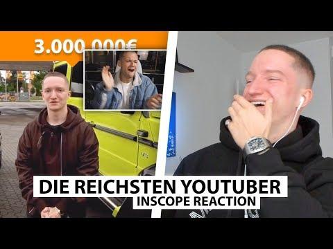 Justin reagiert auf YouTuber die reicher sind als du denkst.. | Reaktion