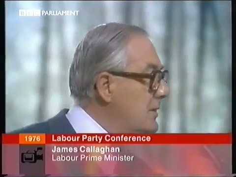 James Callaghan Speech, Labour Party Conference 1976