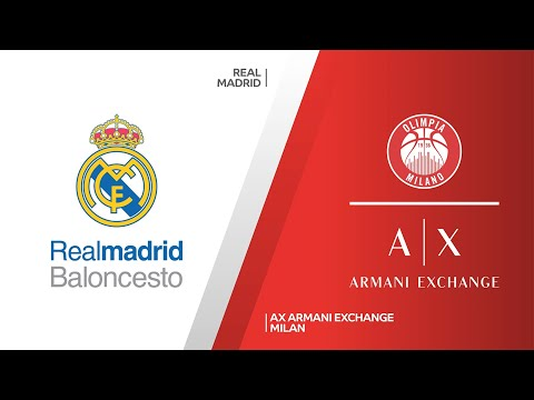 Real Madrid - AX Armani Exchange Milan Highlights | Turkish Airlines EuroLeague, RS Round 18