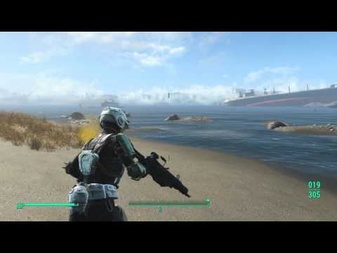 Fallout 4 - Mirelurk Queen at Spectacle Island