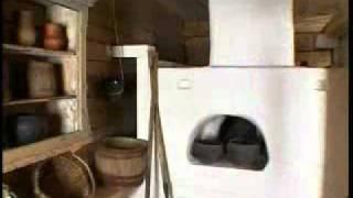 видео Интерьер в стиле русской избы и старинной усадьбы