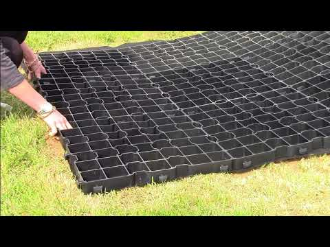 Product Demo: EcoBase Fastfit Plastic Shed Base - YouTube