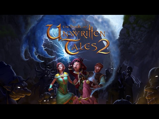 The Book of Unwritten Tales 2 - Switch Gameplay Trailer