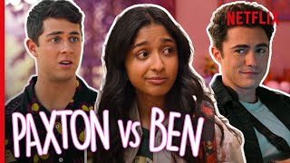 The Devi and Paxton and Ben Love Triangle! | Never Have I Ever
