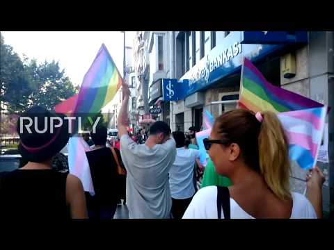 LIVE: Banned Trans Pride Parade takes place in Istanbul