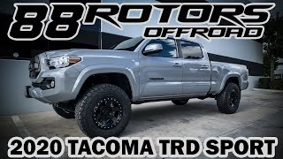 2020 Toyota Tacoma TRD Sport Bilstein 5100 Setup