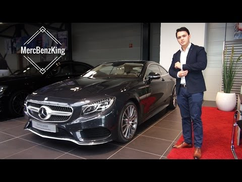 2017 Mercedes S Coupe - S500 Review Startup Test Sound Interior Exterior Infotainment System 4MATIC
