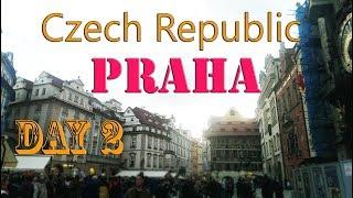 Куда сходить в Праге? Пивоварня У двух Кошек, уличный трдельник. Пражский град ночью