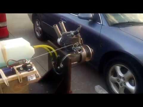 Quadra 52 RC Gas Airplane Engine Q52 Motor Ready to Run