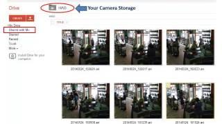 CCTV on Google Drive