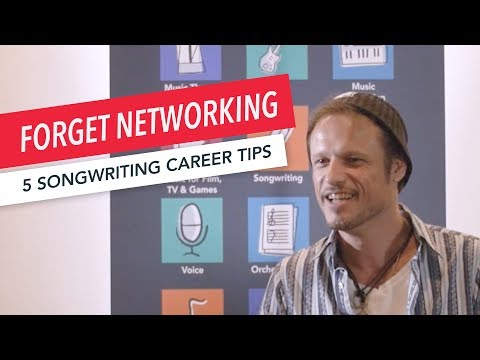 Forget Networking: 5 Ways to Accelerate Your Songwriting Career | ASCAP | Tips | Neil Diercks