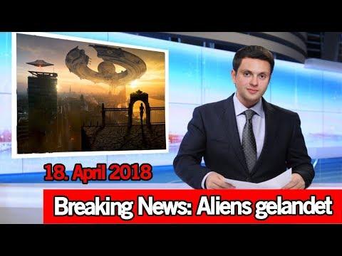 Landen HEUTE Aliens? - Weltuntergang 18. April 2018 - Sprachnachricht entschlüsselt | MythenAkte