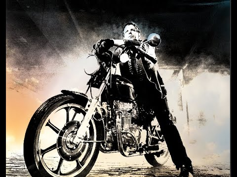 MICKEY ROURKE Is The Motorcycle Boy In