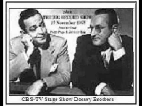 1954 CBSTV Dorsey Brothers Stage 12    Who  South Pacific Medley .mpg