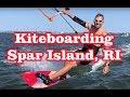 Kiteboarding Spot - Spar Island - Bristol, RI
