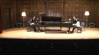 Max Reger  The Variations and Fugue on a Theme by Mozart for piano duos, Op  132a
