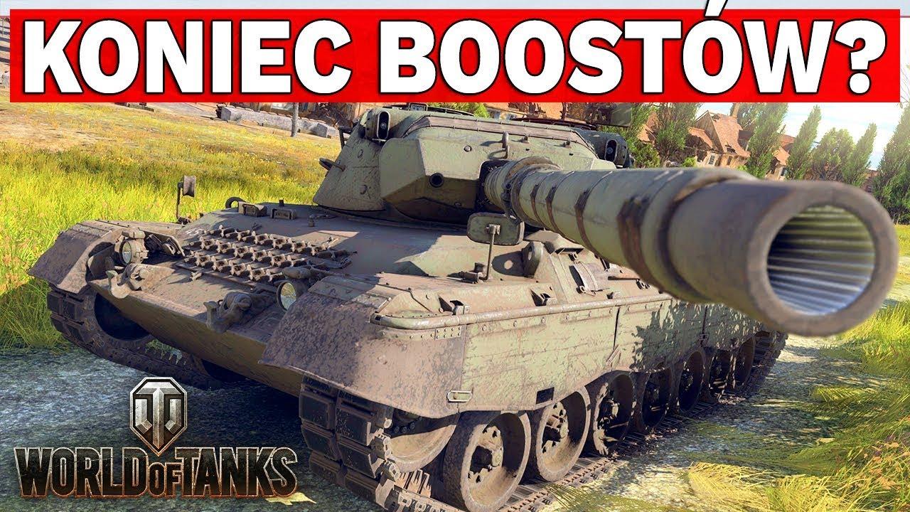 KONIEC BOOSTÓW? – Protest Graczy w Polsce – World of Tanks
