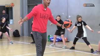 Allan Houston - Aussie Hoops Clinic