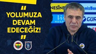 Teknik Direktörümüz Ersun Yanal: Yolumuza Devam Edeceğiz!