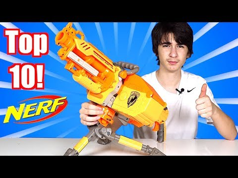 TOP 10 Favorite Nerf Guns?