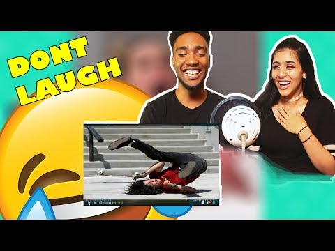 COUPLES | TRY NOT TO LAUGH CHALLENGE 😂 - FUNNEST VIDEO FAILS/FALLS 😆😅