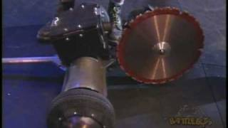 Missing Link vs. Crusher: BattleBots Long Beach. August 1999, RAW FOOTAGE!