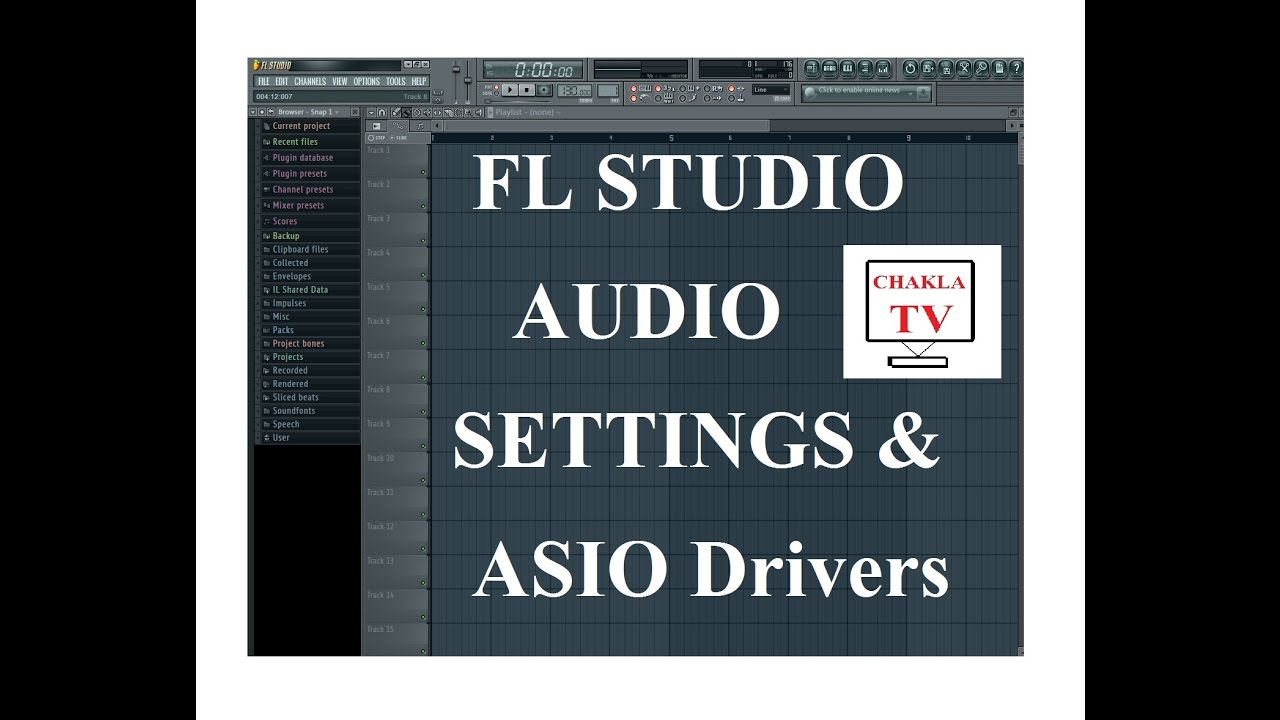 How to configure asio4all and fl studio asio youtube.
