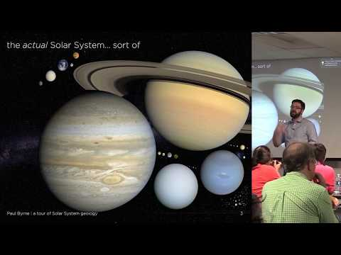 A Tour of the Geology of Our Solar System