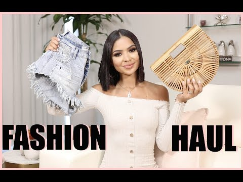 TRY ON Fashion Haul | VACATION LOOKBOOK  | Diana Saldana