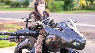 Nonprofit Creates Halloween Costumes For Kids In Wheelchairs
