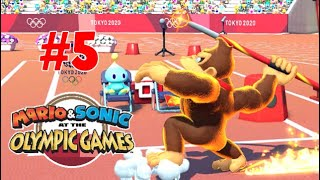 MARIO & SONIC AT THE OLYMPIC GAMES TOKYO 2020   PART 5 : JAVELIN