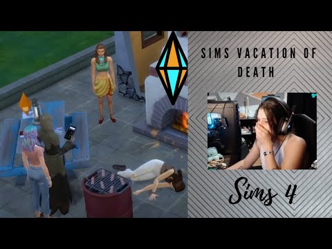 Vacation Of Death (Sims 4-Jungle Adventure) |