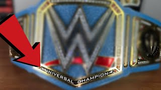 "It's FINALLY Complete! WWE ""Universal Champion"" Banner!"