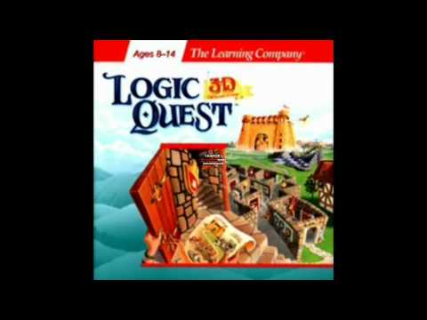 Logic Quest 3-D adventure [PC] music - Key puzzle 5 [HD]