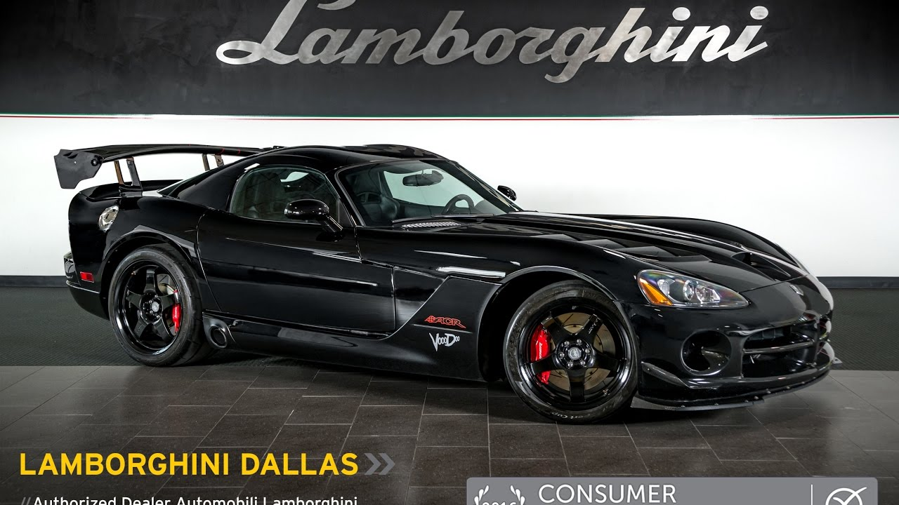 2010 Dodge Viper Srt 10 Voodoo Black Lt0975 Youtube