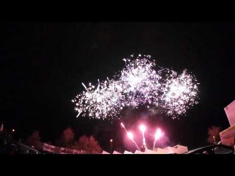 Beispiel: Pyrosonic Musikfeuerwerk   Phantom der Oper, Video: Rothdach Feuerwerk.