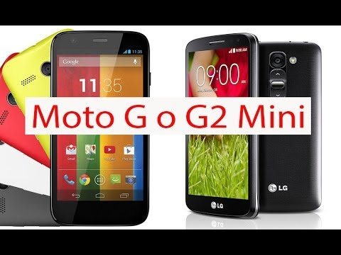 Motorola Moto G vs LG G2 Mini, review comparativa (en español)