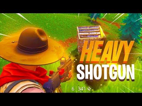 NEW LEGENDARY SHOTGUN GAMEPLAY - Fortnite: Battle Royale