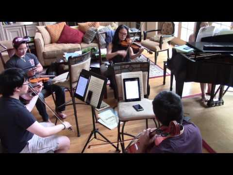 Hikari - Kingdom Hearts - Piano Quartet Cover [ft. purpleschala & madkimchiman]
